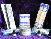 A selection of Nag Champa products